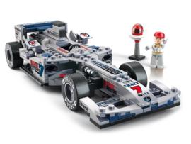 Racewagen Zilver F1 M38-B0352