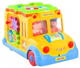 Schoolbus rijdt automatisch