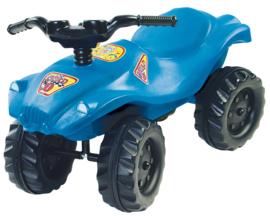Loopauto, Quad blauw