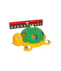 Vormenstoof Schildpad Groen