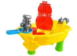 Piratenschip water-zand speelset