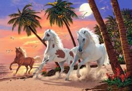Witte Paarden, White Horses Castorland C-151692-2