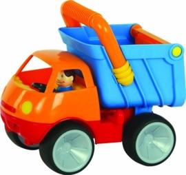 Kiep truck met doos