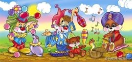 Clown 10 stukjes