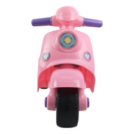 Loopscooter 3 wielen Roze