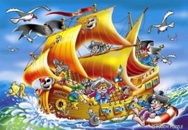 Piratenschip 600 stukjes