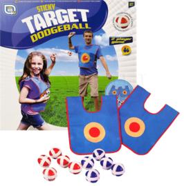 Sticky target dodgeball