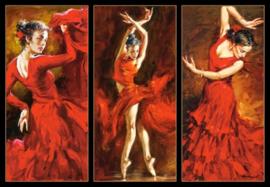 Crimson Dancers Castorland C-103119-2