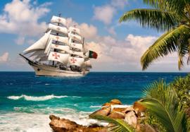 Sailing in the tropics Castorland C-103430-2