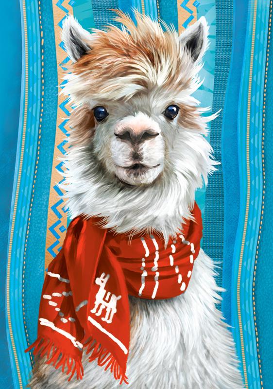 I'am the Llama, Ik ben de lama Castorland B-53308