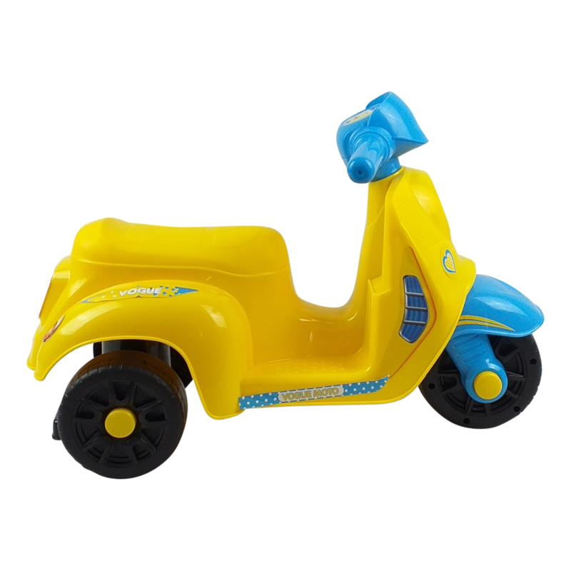Loopscooter 3 wielen Geel