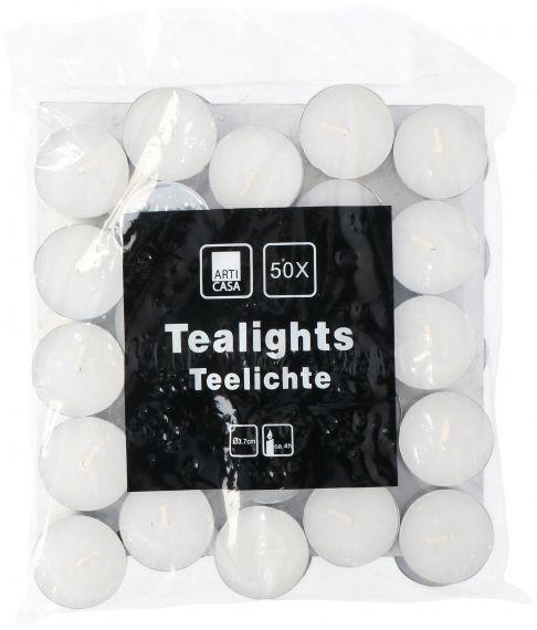 Waxinelichtjes, theelichtjes 50 stuks