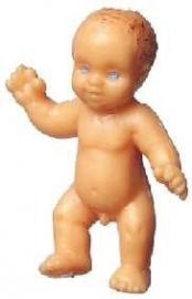 01611 Pop, baby met blauwe ogen.