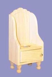 02614 Kindertoiletstoel, blankhout (O)