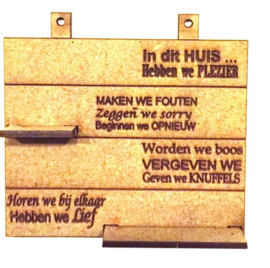 A 222 Spreukenbord.