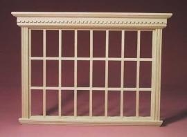 01757 Patriciers 24-lichts raam, niet werkend. (D) (EM5021)