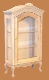 02951 Victoriaans Curio cabinet, blankhout (2)
