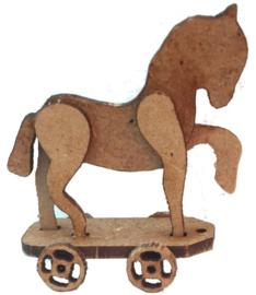 A189  Trekkar met paardje