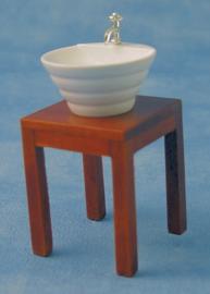 01959 Wasbak op tafel met kraan. (9)