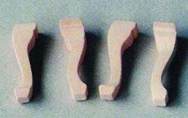 01410 Tafel-, stoelpoten. (H)