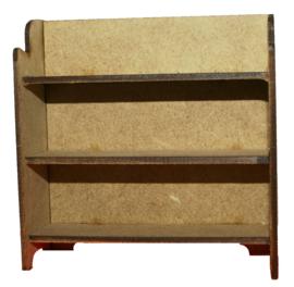 A078 Open kast met plankje
