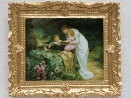 02707 Schilderij moeders liefde (AP)