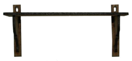 A020  Wandschapje met grote plank