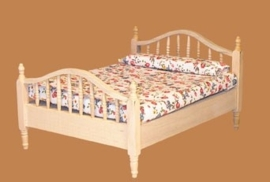 03605 Bed, blankhout (A)