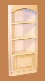00138 Hoekkast 1-sectie, blankhout. (11) (EM5029/N1)