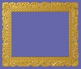 03174 Messing schilderijlijst. (AP)