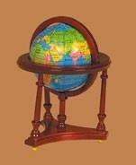 00236 Globe, mahonie. (50)