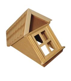 03409 Dakkapel met raam en dakpannen. (32)