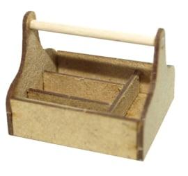 A031 Flessevorm mandje met indeling