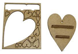 A127 Verschillende hartjes.