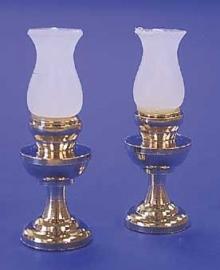 03105 Kersosinelampen, per 2. (AR)