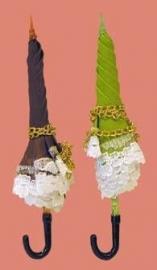 00506 Paraplu, lila, per stuk. (AE)