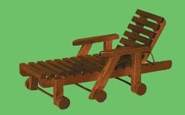 03298 Tuinligstoel, noten (3)