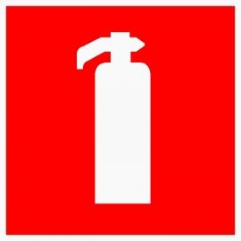 Artikelnummer BB1-V3.25 sticker brandblusser (afm. 10x10cm) per st. vanaf 20 st.