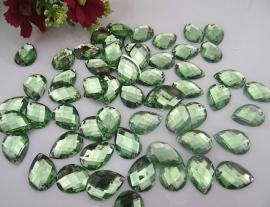 Borduurstenen Groen 13 x 18 mm 10 stuks voor € 1,25