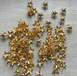 Ster goud 10 mm.  10 voor