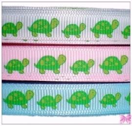 band met schildpadjes in 3 kleuren