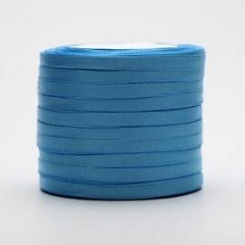 Satijnlint Blauw per mtr. € 0,15