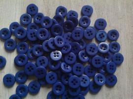 Blauw knoopje 10 mm