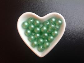 Parels Groen 10 mm. 20 voor
