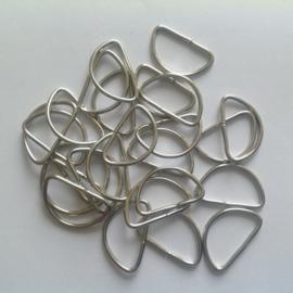 D ring. 15 x 23 mm