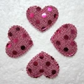 Hartje roze.   10 voor