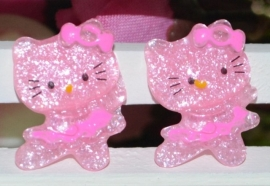 Hello Kitty Roze 2 voor € 0.50