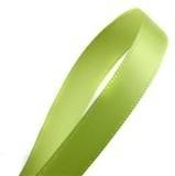 Lime groen satijnlint per meter € 0,25