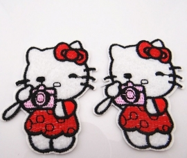 Hello Kitty 58 x 76 mm per stuk € 1,25
