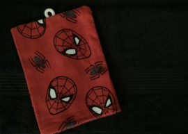 Handdoek met naam en Spiderman washandje